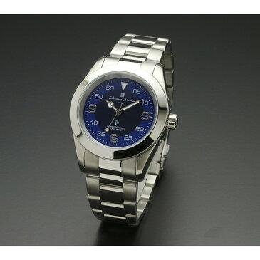 【送料無料】Salvatore Marra SM16113-SSBLSVA [腕時計 (クオーツ・メンズ)]