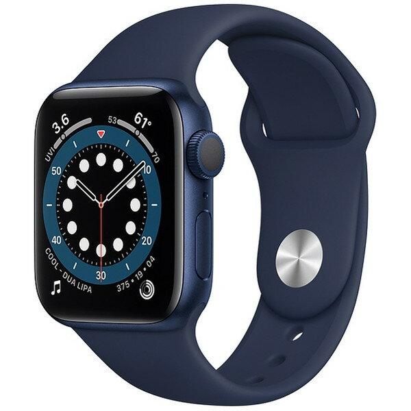 スマートフォン・タブレット, スマートウォッチ本体 APPLE MG143JA Series 6 GPS 40mm Apple Watch