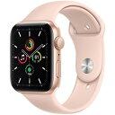 APPLE MYDR2J/A ピンクサンドスポーツバンド SE GPSモデル 44mm [Apple Watch]