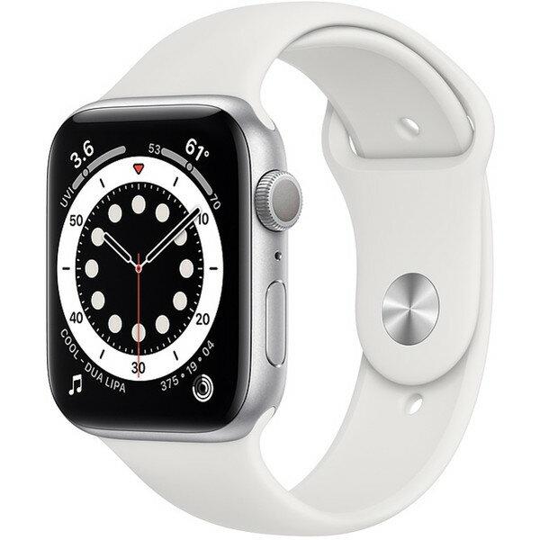スマートフォン・タブレット, スマートウォッチ本体 APPLE M00D3JA Series 6 GPS 44mm Apple Watch