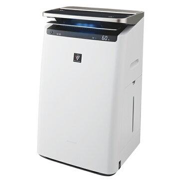 【送料無料】SHARP(シャープ) KI-HP100-W ホワイト系 加湿空気清浄機 (空気清浄〜46畳/加湿〜26畳まで)加湿/除電/高濃度プラズマクラスターNEXT/COCORO AIR/花粉/脱臭/ウイルス/ホコリ/パワフルショット/PM2.5対応/フィルター自動掃除/AIoT