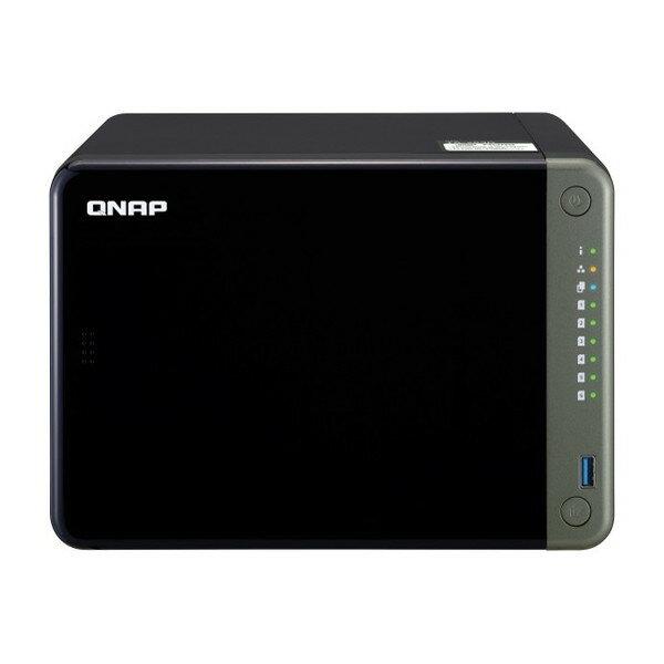 外付けドライブ・ストレージ, 外付けハードディスクドライブ QNAP NAS TS-653D-4G 6 2.5GbE PCIe