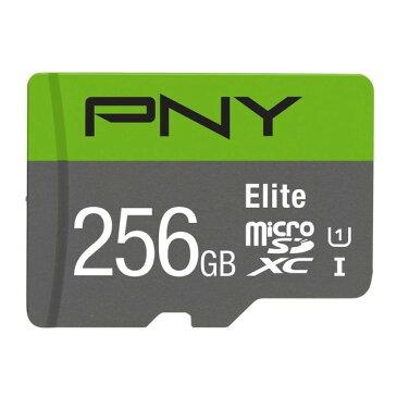PNY P-SDUX256U1GW-GE Eliteシリーズ Class10 U1 [microSDXCメモリカード 256GB] メーカー直送