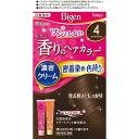 ホーユー ビゲン 香りのヘアカラー クリーム 4 1セット