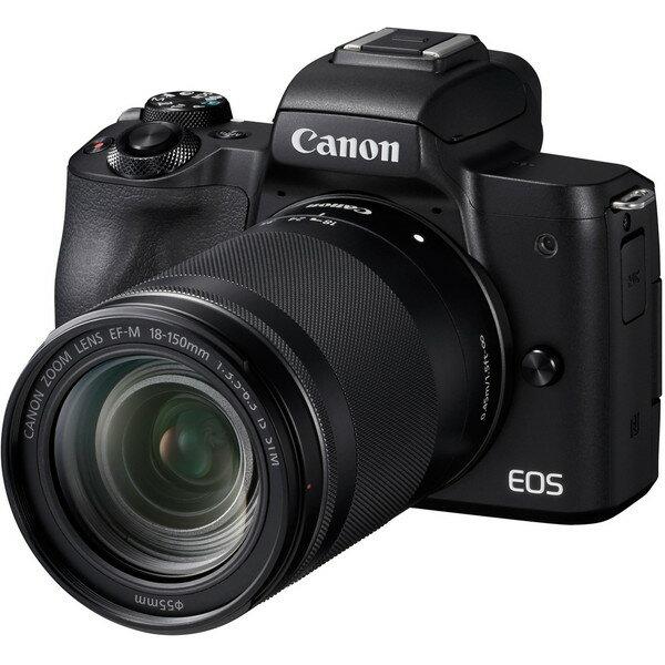 デジタルカメラ, ミラーレス一眼カメラ CANON EOS Kiss M EF-M18-150 IS STM (2410)