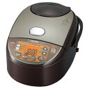象印 炊飯器 NW-VH10-TA 日本製 極め炊き 5.5合炊き ブラウン IH NWVH10 おいしい おすすめ 人気 ケーキ パン 2020年モデル 新生活 一人暮らし シンプル・・・