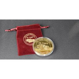 CMC ゴールド アニバーサリ- コイン CMC25周年 ミニカー