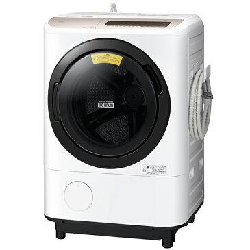 【送料無料】日立 BD-NV120CL シャンパン ビッグドラム [ななめ型ドラム式洗濯乾燥機 (12kg) 左開き] 【代引き・後払い決済不可】【離島配送不可】