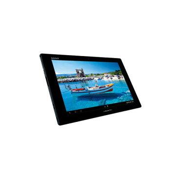 【送料無料】SONY SO-03E ブラック Xperia Tablet Z SIMフリーモデル [Androidタブレット 10.1型液晶 32GB] 防水 フルセグ TV シムフリー ネット鑑賞 お風呂 軽量 薄型