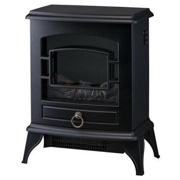 【送料無料】スリーアップ株式会社 CH-T1840BK ブラック Nostalgie (ノスタルジア) [暖炉型ヒーター]