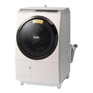 【送料無料】日立 BD-SX110CL ロゼシャンパン ヒートリサイクル 風アイロン ビッグドラム [ななめ型ドラム式洗濯乾燥機 (洗濯11.0kg/乾燥6.0kg) 左開き] 【代引き・後払い決済不可】【離島配送不可】