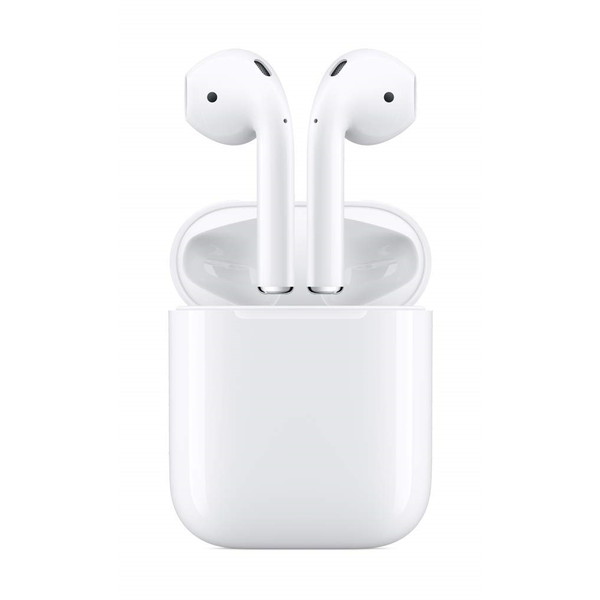 スマートフォン・タブレット, ヘッドセット・イヤフォンマイク APPLE Airpods 2 Bluetooth AirPods with Charging Case MV7N2JA