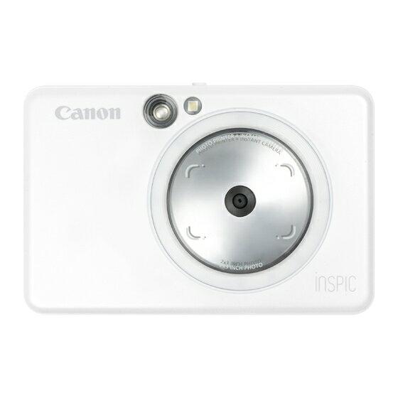 フィルムカメラ, インスタントカメラ CANON ZV-123-PW iNSPiC