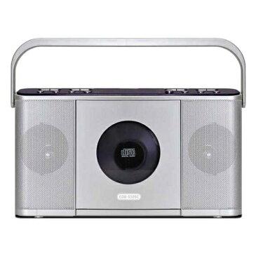 Bearmax CDR-550SC シルバー Manavy [速聴き/遅聴きポータブルCDラジオ]