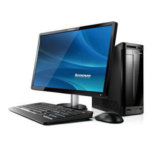 機能と拡張性は十分に筐体はコンパクトに。21.5型ワイド液晶パソコン 76981KJ(ブラック)Lenovo...