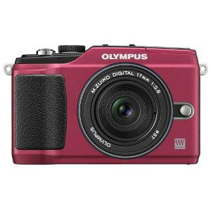 OLYMPUS E-PL2PKIT-RED PEN Lite E-PL2 パンケーキキット:アーティスティックな表現も思いのま...