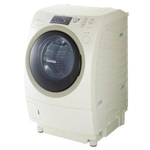 [左開き] 9.0kg ドラム式洗濯乾燥機 ZABOON プラチナベージュ:キレイが違う!東芝ザブーン。「...