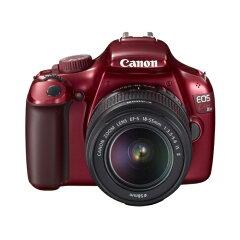 キヤノン イメージ通りの写真が撮れる「表現セレクト」機能を搭載Canon EOS Kiss X50(レッド) ...