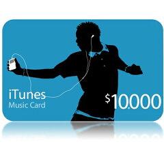 iTunes Music Card 10000円分APPLE iTunesCard10000