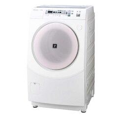 毎日の選択を手早く片付けられる、忙しい方にぴったりのドラム式SHARP ドラム式洗濯乾燥機 ES-V...