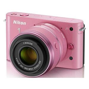 ファッショナブルなプレミアムカメラ。NIKON Nikon 1 J1 ダブルズームキット ピンクスペシャル...