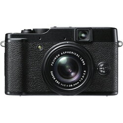 FUJIFILM X10 [プレミアムコンパクトデジタルカメラ ブラック フジノン光学4倍マニュアルズーム...