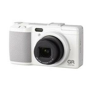 【送料無料】RICOH GR DIGITAL IV ホワイトエディション [コンパクトデジタルカメラ(1000万画素)]