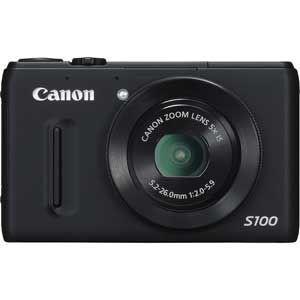 CANON PowerShot S100 BK [パワーショット ブラック]【送料無料】【エントリーでポイント10倍12...