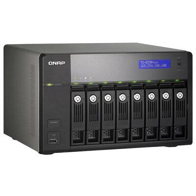 QNAP TurboNAS TS-859Pro+ [2.5/3.5インチSATA I/II(8台/16TBまで)]【送料無料】QNAP TS-859...