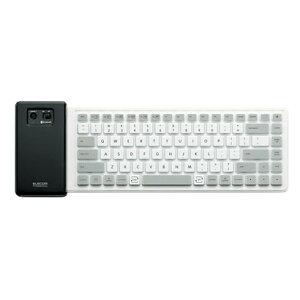 ELECOM TK-FBS035EWH [Bluetoothシリコンキーボード ホワイト]ELECOM TK-FBS035EWH