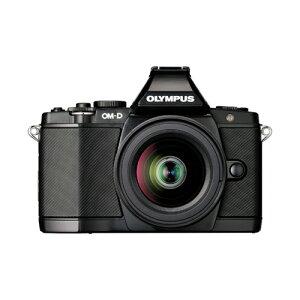 OLYMPUS OM-D E-M5 レンズキット [マイクロ一眼 ボディー ブラック+M.ZUIKO DIGITAL ED12-50mm...