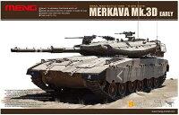 モンモデル1/35イスラエル軍イスラエル主力戦車メルカバMk.3D初期型プラモデル