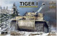 ライフィールドモデル1/35ドイツ軍重戦車タイガーI前期型「ヴィットマンタイガー」w/フルインテリア&クリアパーツプラモデル