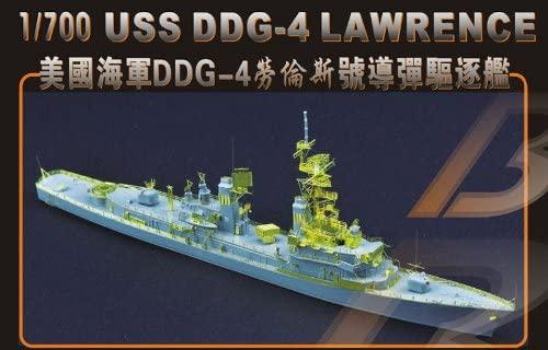 ミリタリー, 駆逐艦  1700 U.S.S. DDG-4 1979 ()