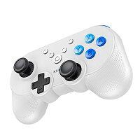 【最新ミニ版NFC機能】Nintendoswitchコントローラー小型無線ワイヤレスNFC機能HD振動TURBO連射機能搭載ブルートゥース接続ゲームパットコンパクトニンテンドースイッチBluetooth接続キャプチャー機能Amiibo対応スイッチコントローラーブラックホワイト