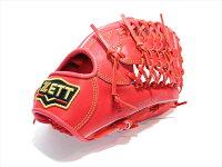 野球ゼットZETTプロステイタス軟式グラブ外野手用ディープオレンジ日本製BRGB-30917【型付け無料】