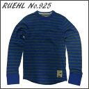 RUEHL No. 925 メンズ 長袖 カットソー ブルー / 青 ...