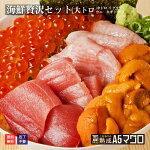 海鮮贅沢セット(大トロイクラウニ)