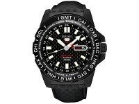 セイコーSEIKO5SPORTS逆輸入自動巻き腕時計SRP721K1カーボン限定モデル