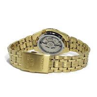 セイコーSEIKO自動巻きメンズ腕時計SNK596J1ブラック
