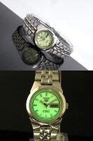 SEIKO5セイコー5逆輸入日本製レディース自動巻き腕時計SYMG57J1メタルベルトブレスレット