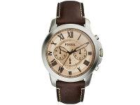 フォッシルFOSSIL腕時計グラントクロノグラフFS5152メンズレザーベルト