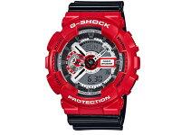カシオCASIOGショックG-SHOCKアナデジ腕時計ソリッドレッドGA-110RD-4Aメンズ
