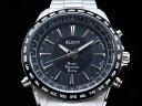 エルジン ELGIN 腕時計 GPS 電波 メンズ GPS2000S-B
