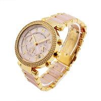 マイケルコースMICHAELKORSMK6326PARKERレディース・クロノグラフ腕時計
