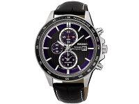 セイコーSEIKO逆輸入ソーラークロノグラフ腕時計SSC437P1