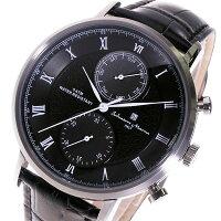 サルバトーレマーラクロノクオーツメンズ腕時計SM16105-SSBKブラック