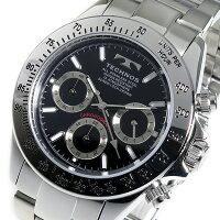 テクノスTECHNOS腕時計メンズTSM401SBクロノグラフ