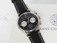 トランスコンチネンツTRANSCONTINENTS腕時計メンズ40mmTC-HE-004