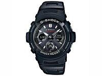 カシオGショックG-SHOCK電波ソーラーメンズ腕時計AWG-M100SBC-1AJF国内正規品